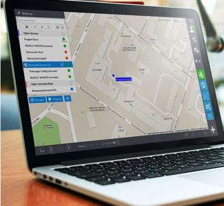 Установка gps трекера для системы мониторинга транспорта